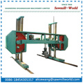 Horizontal Band Sawmill for wood Cutting