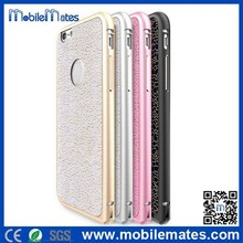 HOCO Blade Series Detachable Metal Frame & Removable Adhesive Back Case For iPhone 6 Plus 5.5 Inch