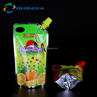 2016 hotselling plastic food packaging bags for beverage