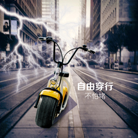 2016 new peoducts hot sell 800W electric motorcycle, electric scooter factory