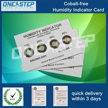 cobalt free humidity indicator labels for PCB dry packing