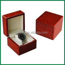 Accept custom order High quality octagonal wood watch case/watch box/watch gift packaging