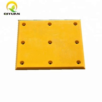 High Wear Resistance UHMW PE pad and HDPE plastic sheet
