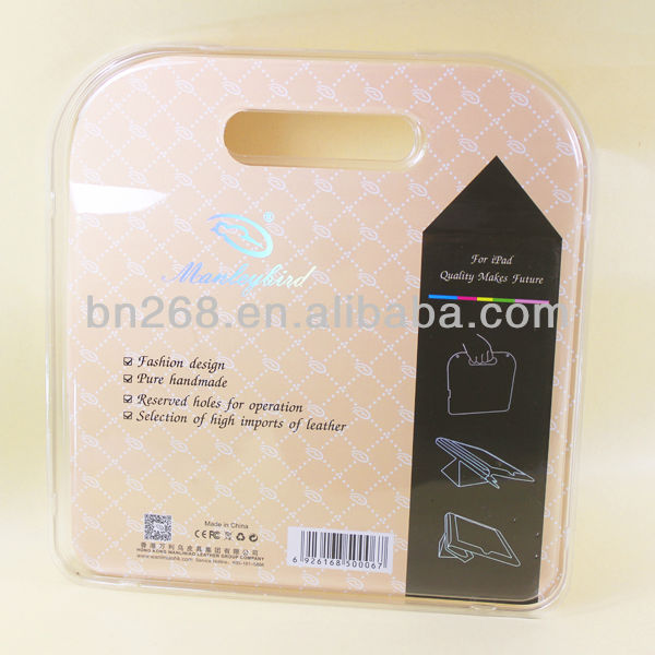 transparent packaging box for ipad case