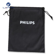 Guangzhou manufacturers custom printed logo pull rope storage bag cell phone tablet protection bag