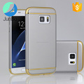 2017 Hot sales new arrival 3 in 1 hard PC electroplate mobile phone case for samsung galaxy s8