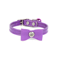 Pet Supplies Pet Cat Dog Strong and durable Adjustable PU Leather Collars