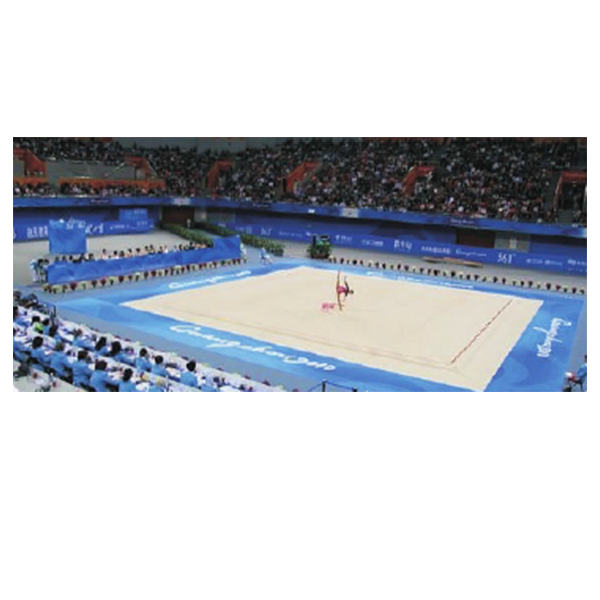 High Grade Rhythmic gymnastic field for competition rhythmic gymnastics floor