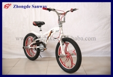 new design fashionable freestyle racing bmx shunt bike