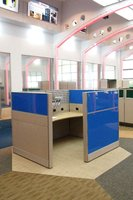 office workstation design, cubicle furniture design, modern office interior design