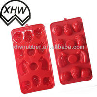 Chivas silicone ice tray/Irregular Shape Ice Tray/Silicone Ice Tray/Skeleton Shaped Ice Forms