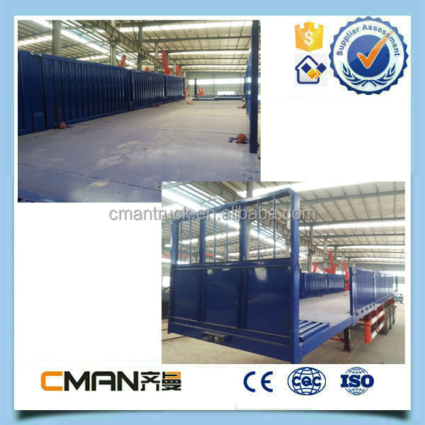 13 meters 3-axles truck trailers container carrier for sale in China