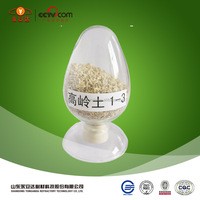 calcined flint clay kaolin price China supplier in refractory