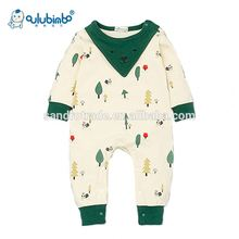 High quality baby wool cloths plain toddler pajamas baby sleep wear