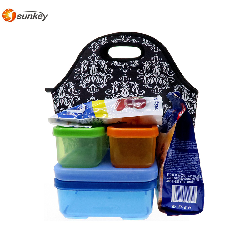 wholesale Food packing Tote Lunch Bag Insulated Lunch Bag Neoprene