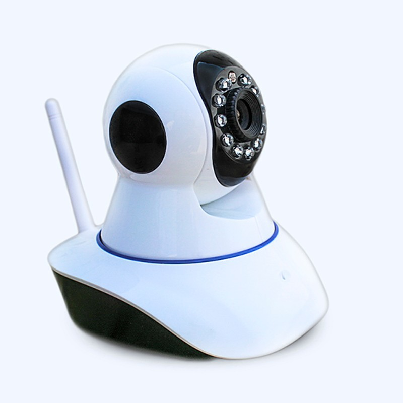 Low cost OEM mould home security camera HD p2p two way audio support 128GB SD card recording