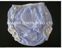 2014 hot sale PVC plastic diaper pant