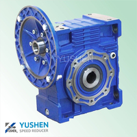 VF series 90 degree aluminium ISO9001 certificate speed reducer gearbox hydraulic gearbox