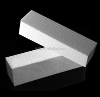 free shipping Buffing Sanding Files Manicure Care Nail Art White Block Pedicure Buffer