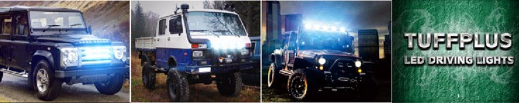 TUFF PLUS New Driving Light Bar DRL 20W E-mark approved led offroad light bar