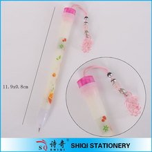 Promotional girl gifts pendant ball pen by paypal