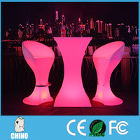 Party Night Club Lighting glowing led table chair LED CC-561102