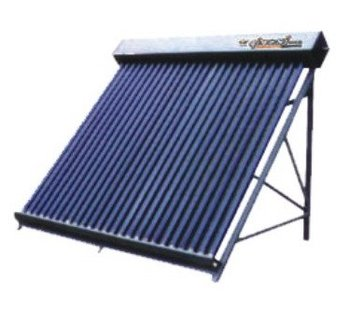 Sectional Metal Heat-pipe Solar Collector
