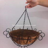 Artificial Hanging Baskets With Flower