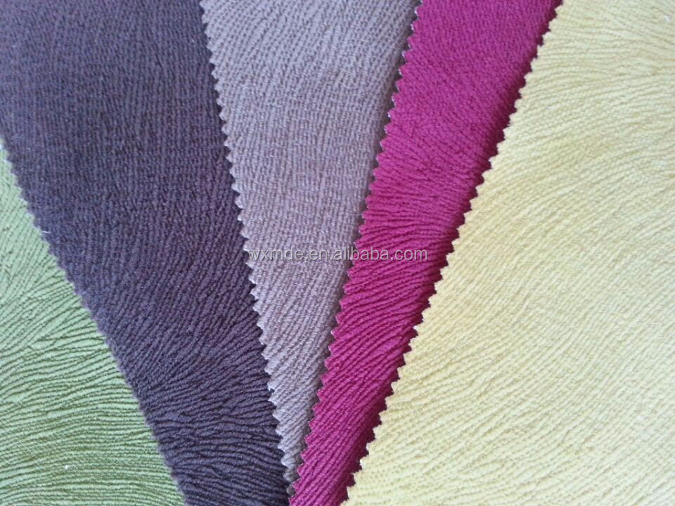 100% polyester burn out velvet upholstery fabric