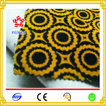 2017 New Product African/ Dubai 100% Nylon Flocking Sofa Fabric For Furniture