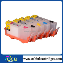 Ocbestjet Full Colors Refill Ink Cartridge For Hp 364 Photosmart 7520 4615 Printer