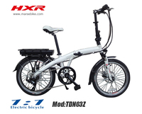 PAS System Electric Foldable Bike with lithium battery,max speed 25km/h