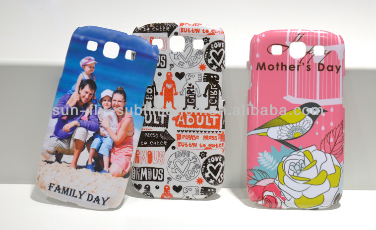 3D Sublimation Phone Case for Samsung Galaxy S3