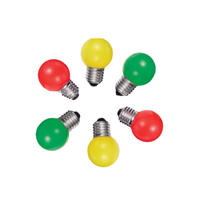 Low price colorful light 2w 3w led light E27 110 volt led bulbs red/blue/green/yellow light for christmas