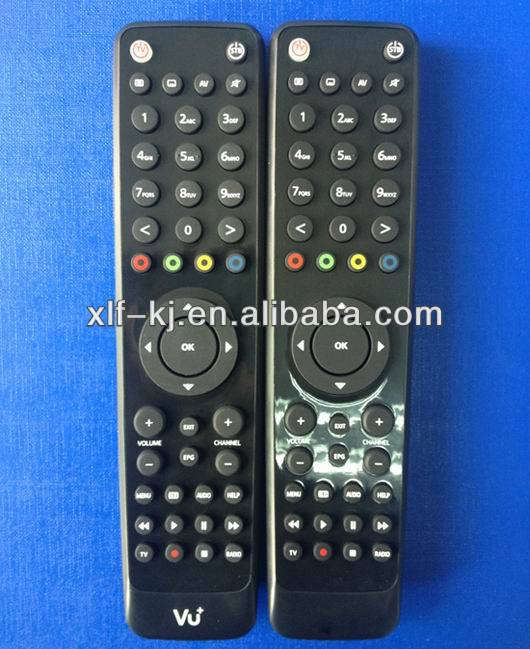 CE ROHS certificates shenzhen factory vu+ solo 2/ vu solo2 DVB/ tv remote control for set top box STB/ DVD