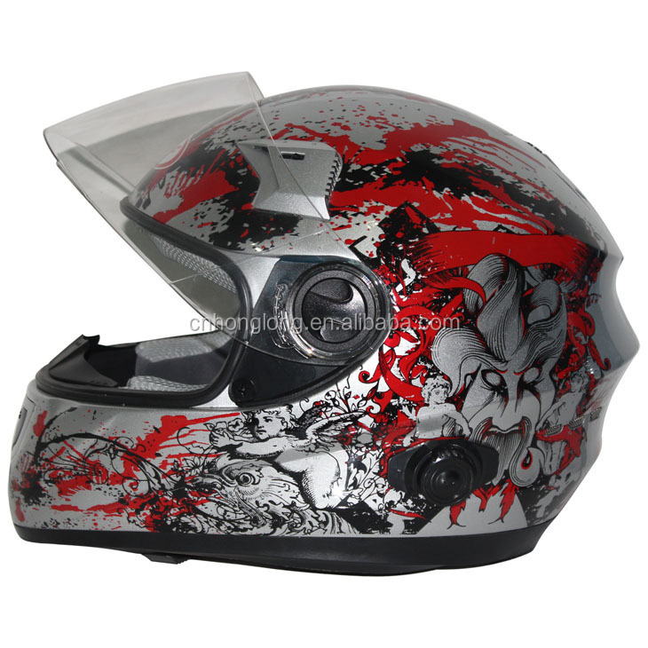 Adults Moto cross helmet with beautiful color---ECE/DOT Certification Approved
