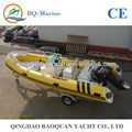 CE approved 5.2m luxury RIB inflatable boat,rib boats