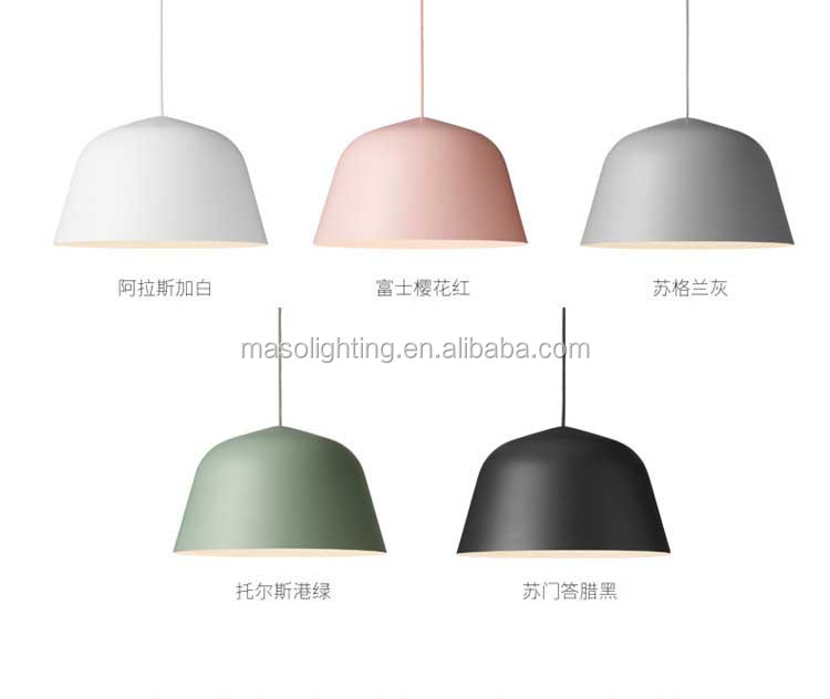 Elegant Nordic Romantic Pendant Lights fixture Shell shape Cast Iron Dinning Room Ceiling lights Art Decoration
