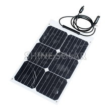 Factory Price High Efficiency Flexible Solar Panel 18 watts China For Bag