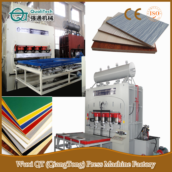 Pre Lamination Melamine MDF Board Making Machine