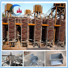 high efficient iron separator spiral chute gravity separator