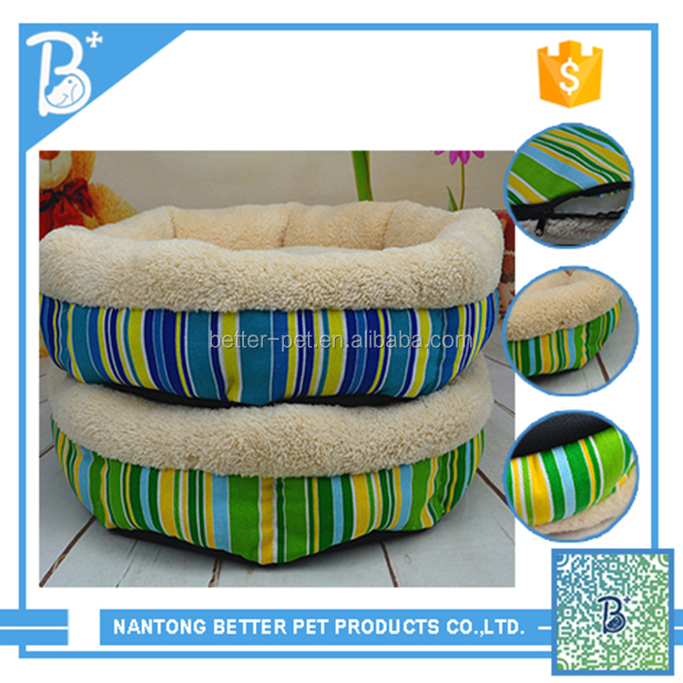 New arrival pet sleeping soft polyester plush dog bed extra large