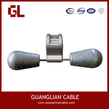 Pole transmission line hardware accessories FR type stockbridge vibration damper c/w armour rods
