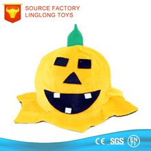 Wholesale Birthday Party Supplies Bluetooth Toy Top Hat Pumpkin Design Orange Hair Ring Stuffed Toys Online
