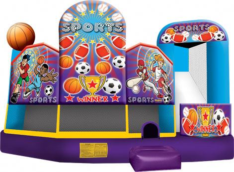 Sports USA 5 In 1 Combo inflatable combos