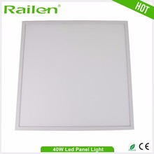 Easy install waterproof competitive price 40w led flat panel light dlc listing