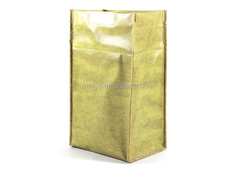 Non woven cooler bag for food lunch box