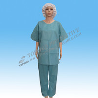 TOPMED manufacturer medical scrubs man disposable suit