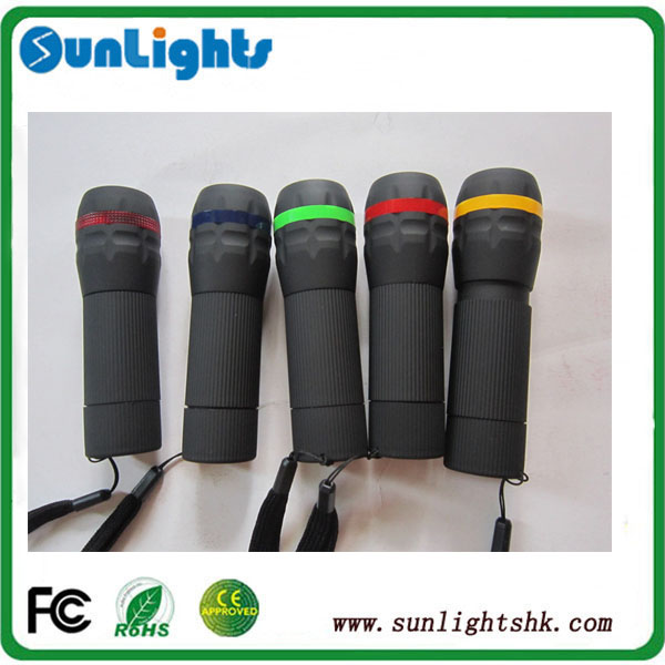 3AAA mini LED plastic torch more colors body mini kids flashlight /kids flashlight torch OEM accepted