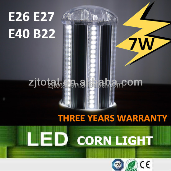 Bestselling 7W LED Corn Light,Focos LED